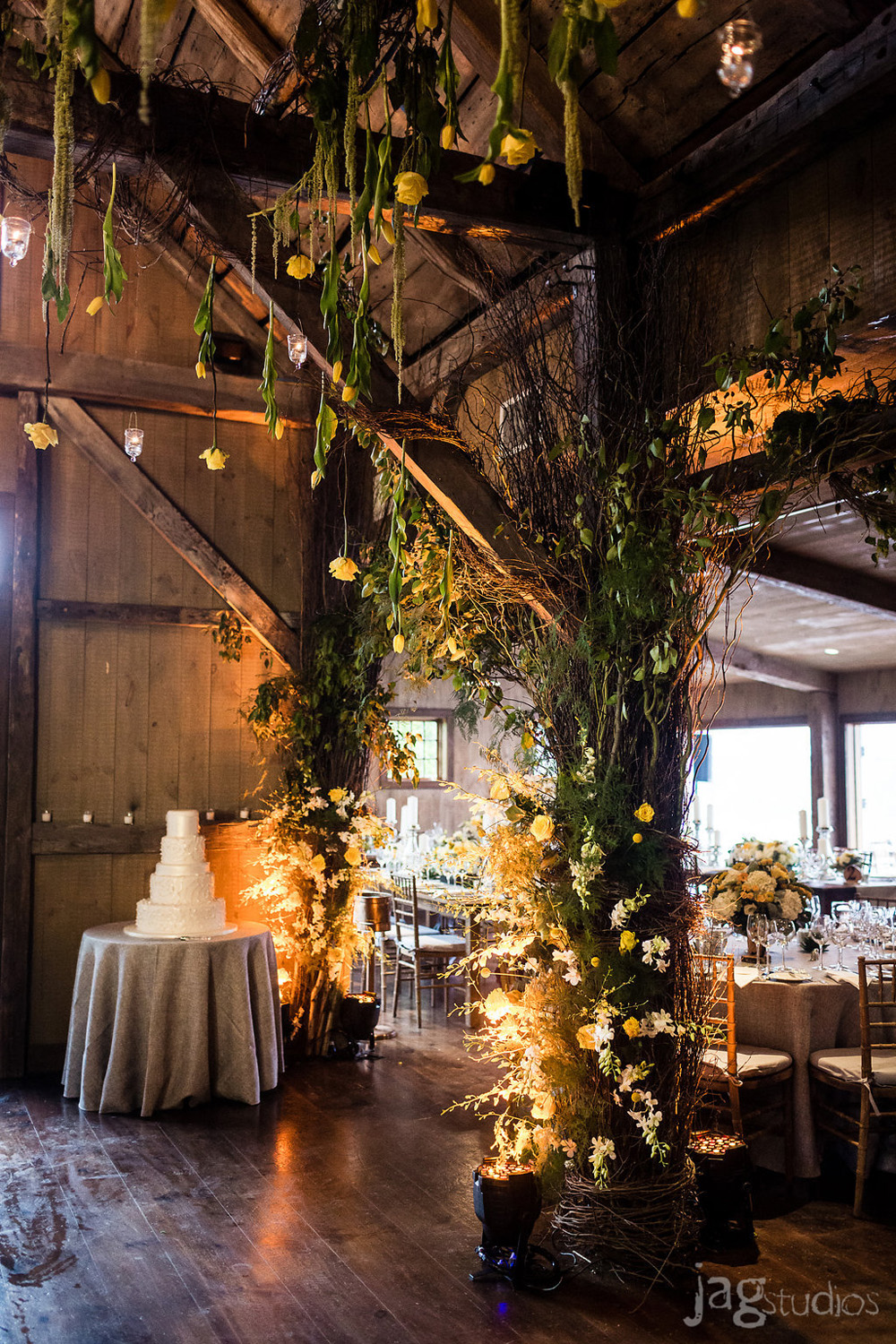 Rustic New England Wedding Reception Venue Winvian Farm