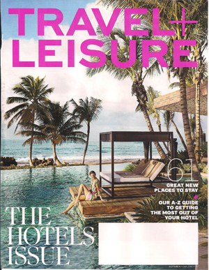 Travel + Leisure Cover 2013